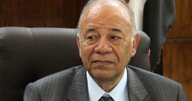 المستشار محمد أحمد عطية رئيس اللجنة القضائية المشرفة على الاستفتاء