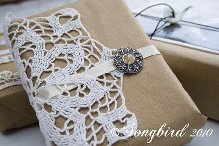 pretty packages #doilies