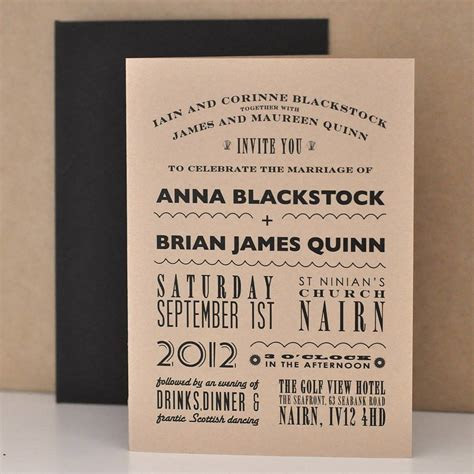 Casual Wedding Invitations Ideas