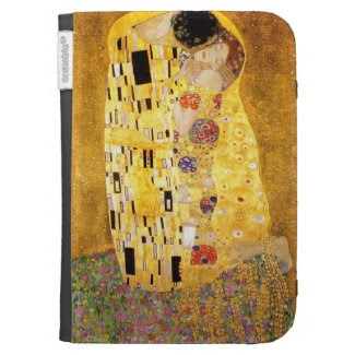 Gustav Klimt The Kiss Kindle Case