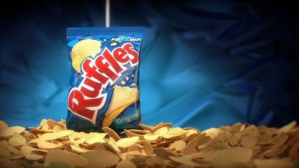 Ruffles Chips Packaging 30+ Crispy Potato Chips Packaging Design Ideas