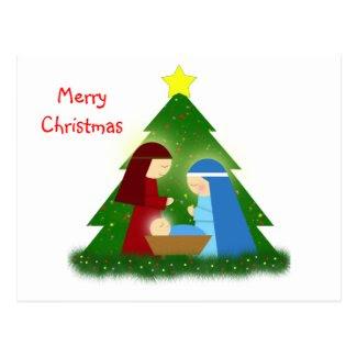 Nacimiento - Christmas Postcard Tarjeta Postal
