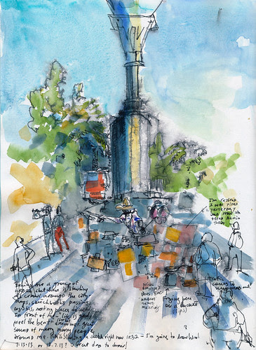 1st Annual West Coast Urban Sketchers Sketchcrawl
