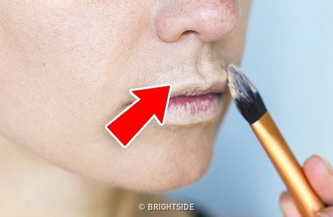 Nàng môi mỏng đến mấy cũng sẽ có đôi môi căng mọng xinh tươi đón Tết nhờ biết cách dùng một chút kem che khuyết điểm thế này - Ảnh 3.