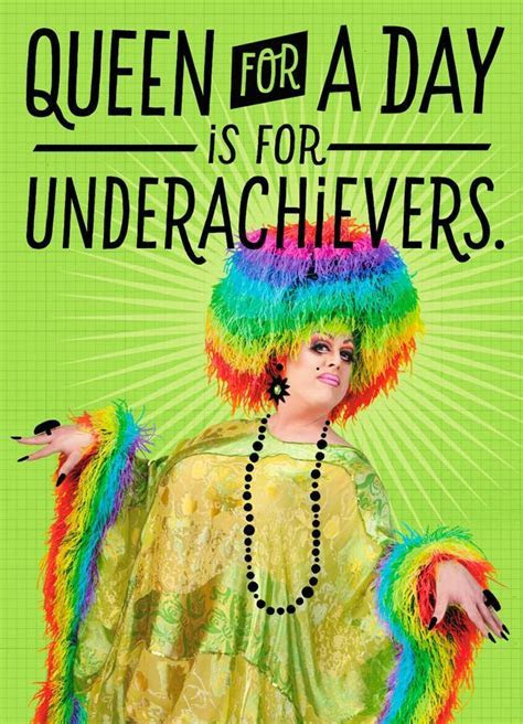 Drag Queen for a Day Blank Card   Greeting Cards   Hallmark
