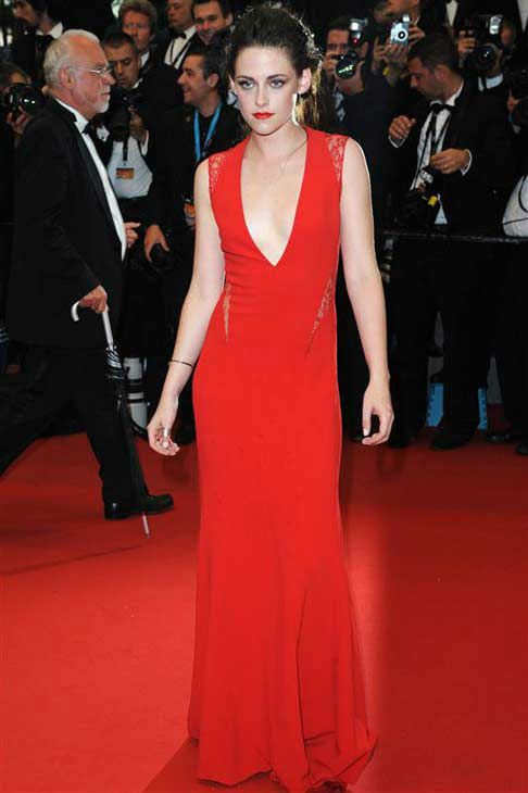 Kristen Stewart appears at the 65th annual Cannes Film Festival on May 25, 2012.