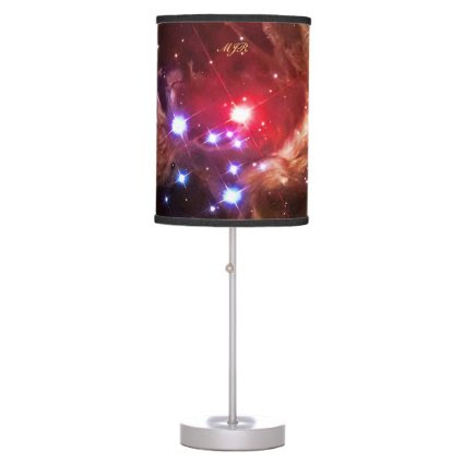 Monogram Red Supergiant Star Monocerotis Table Lamps