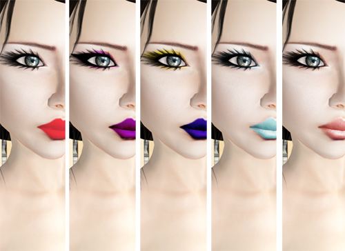 NEW! -Glam Affair- Sofia Pale Skin -Make Up