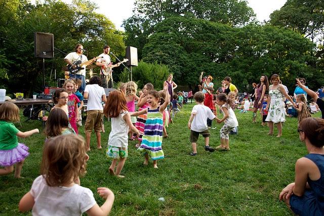 Brooklyn Botanic Garden Family Night/Summer