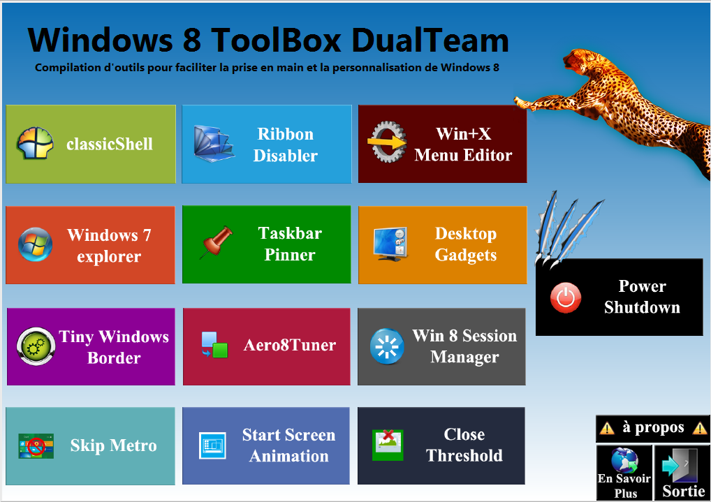 Windows 8 ToolBox DualTeam