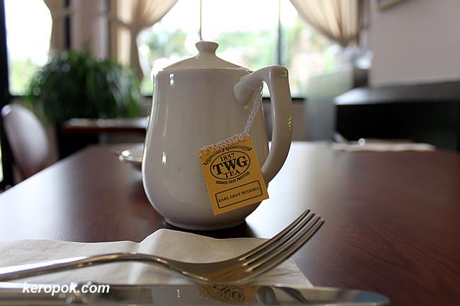 TWG Teabag in a pot