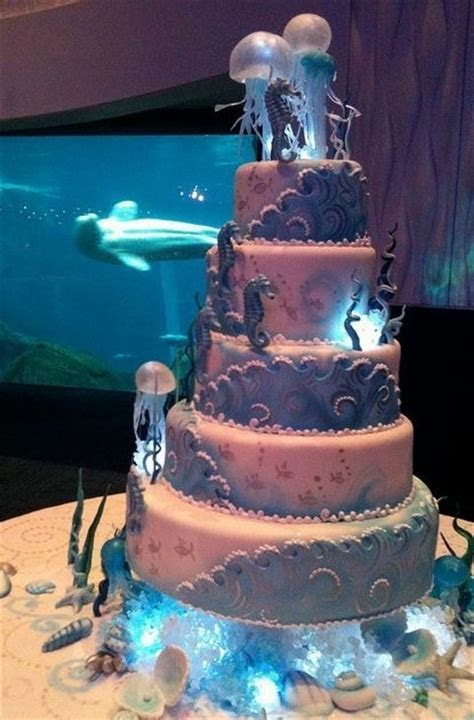 Under the sea cake ! Now take this and use blue star fish
