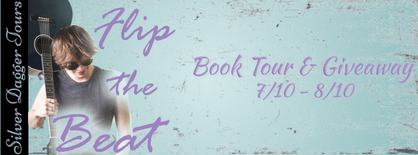 Book Tour Banner for the contemporary romantic comedy Flip the Beat by Roxanne D. Howard with a Book Tour Giveaway