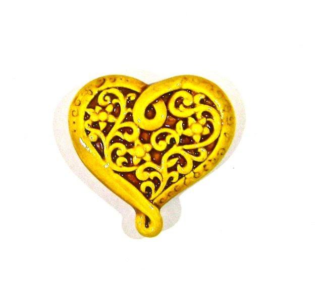 Yellow Valentine - Porcelain Tile - BarbsCottage
