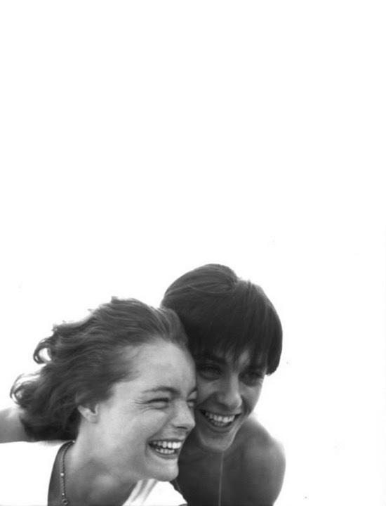 Romy Schneider and Alain Delon  Le couple du siècle