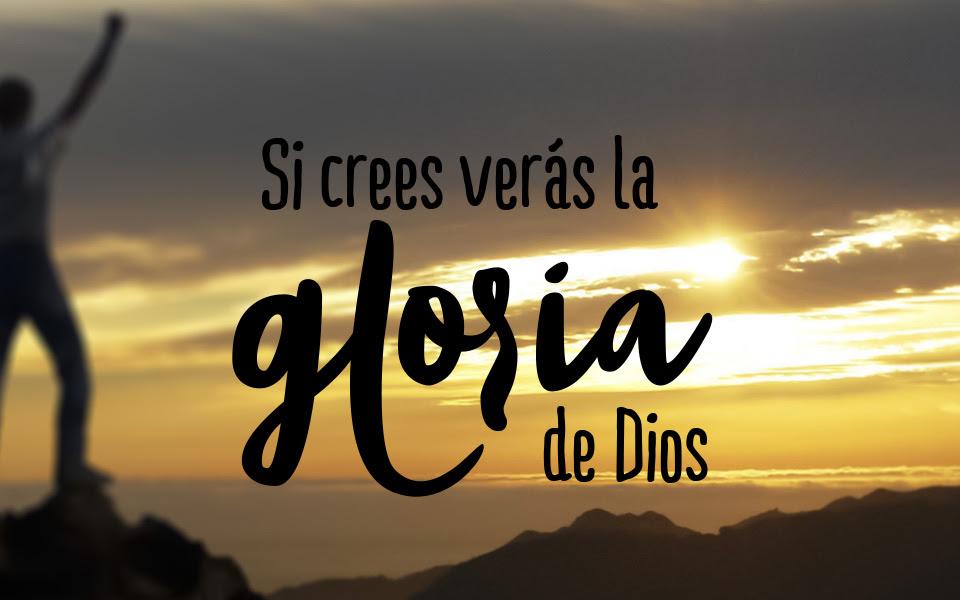 Resultado de imagen de La gloria de Dios
