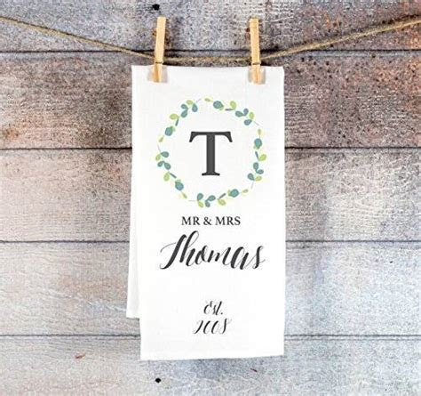 Amazon.com: Gift for Couples Kitchen Towel Personalized