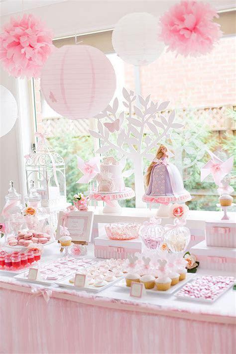 Kara's Party Ideas Tangled   Enchanted Garden Birthday