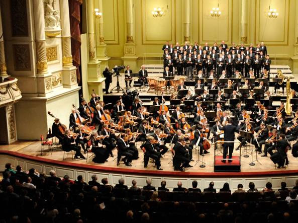 L'Orchestra sinfonica di Dresda
