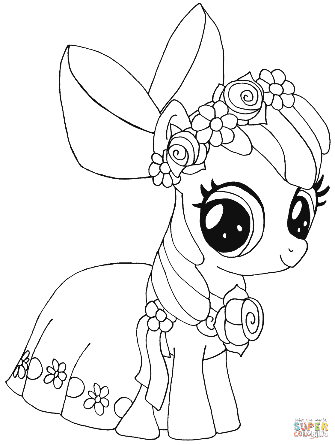 980 Top Colouring In Pages My Little Pony For Free
