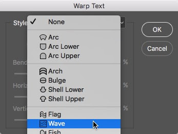 How To Create Warped Text In Photoshop Photoshop Bootcamp