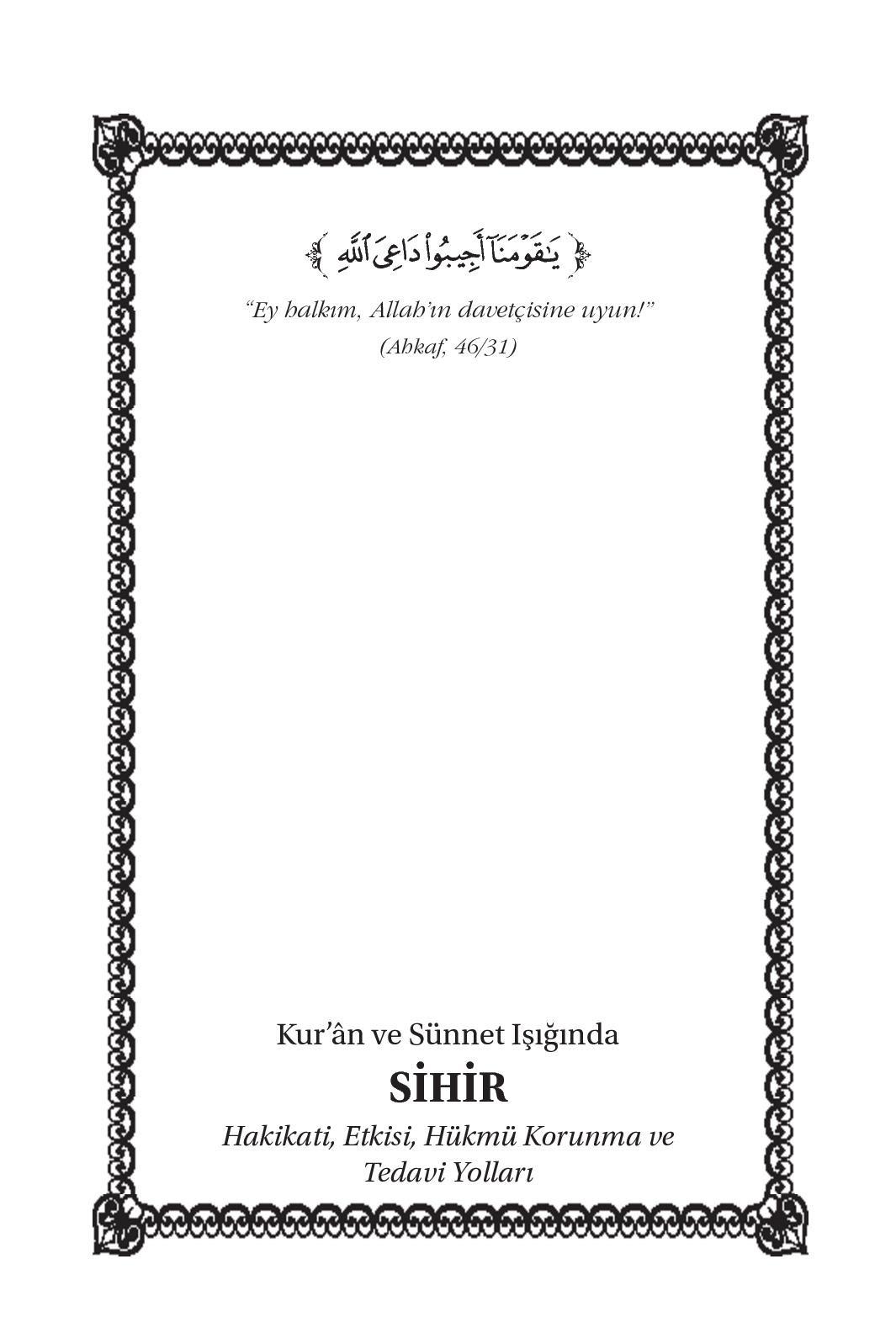 Calaméo Magic Reality And Its Impact Islamic Book In Turkish