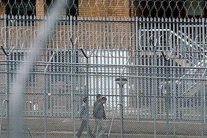 Blaxlands complex at Villawood Detention Centre Sydney