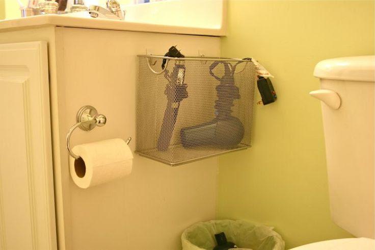 hair dryer storage