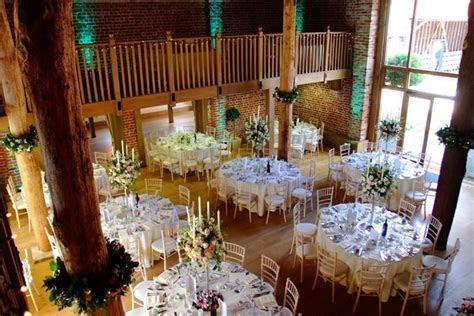 The Mill Barn for wedding receptions at Gaynes Park