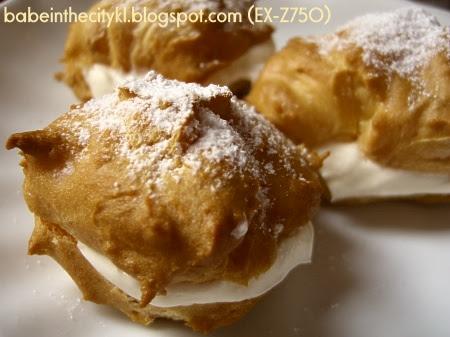 fresh cream puffs