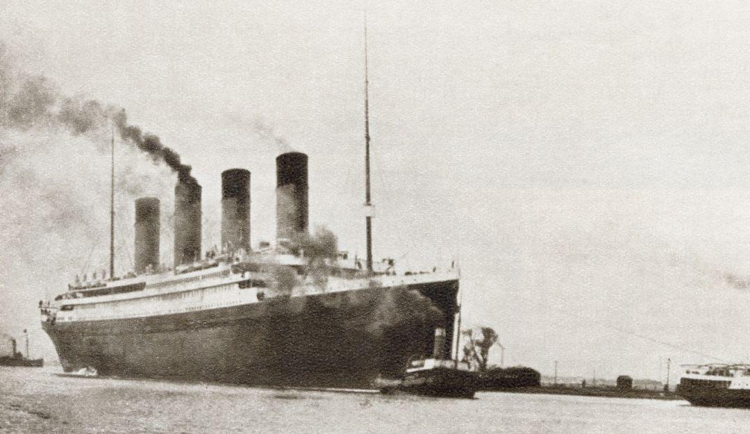 Resultado de imagen para hundimiento del Titanic;
