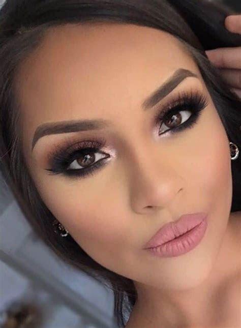 Wedding makeup for brown eyes 15 best photos   Makeup