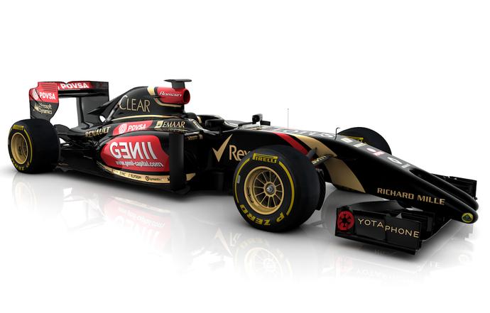 Ferrari, McLaren e Lotus mostram carros para a temporada 2014 de Fórmula 1