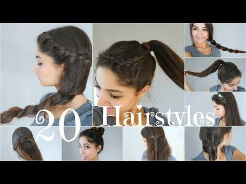 Schnelle Frisuren Fur Den Alltag Mittellanges Haar Stilvolle