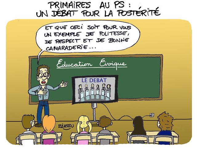 PS, le débat des primaires