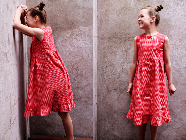 Ruffle Dress #4