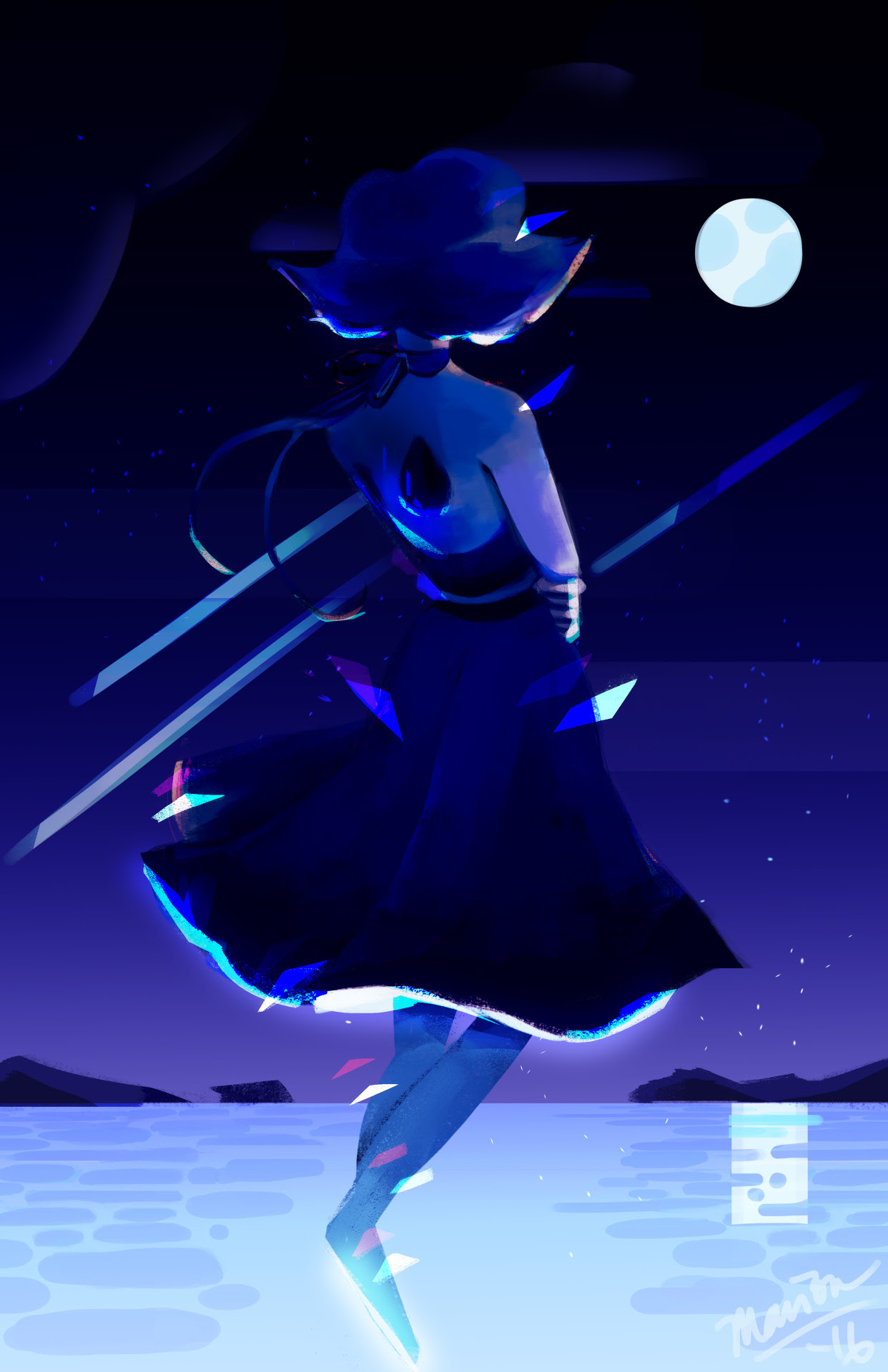 Lapis Lazuli A piece for a Cartoon Network art show I was a part of! Lapis is one of my favorite characters from the show, and I'm so happy a lot of people liked this piece :') she means a lot to...