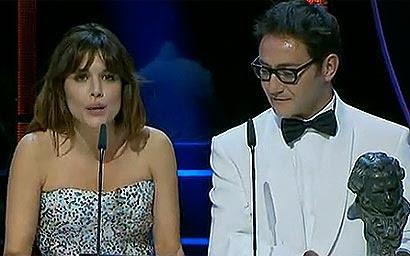 Y el error de los Goya fue para... Adriana Ugarte
