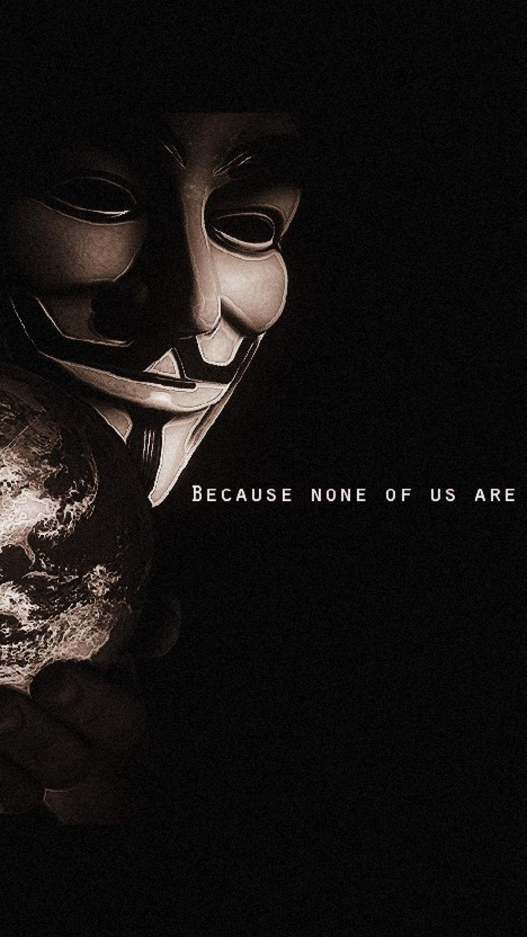 Anonymous Wallpaper HD for Iphone | PixelsTalk.Net