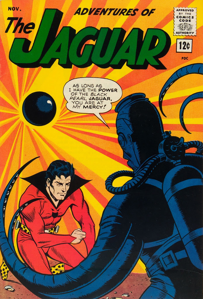 Adventures of the Jaguar #15 John Rosenberger Cover (Archie, 1963)