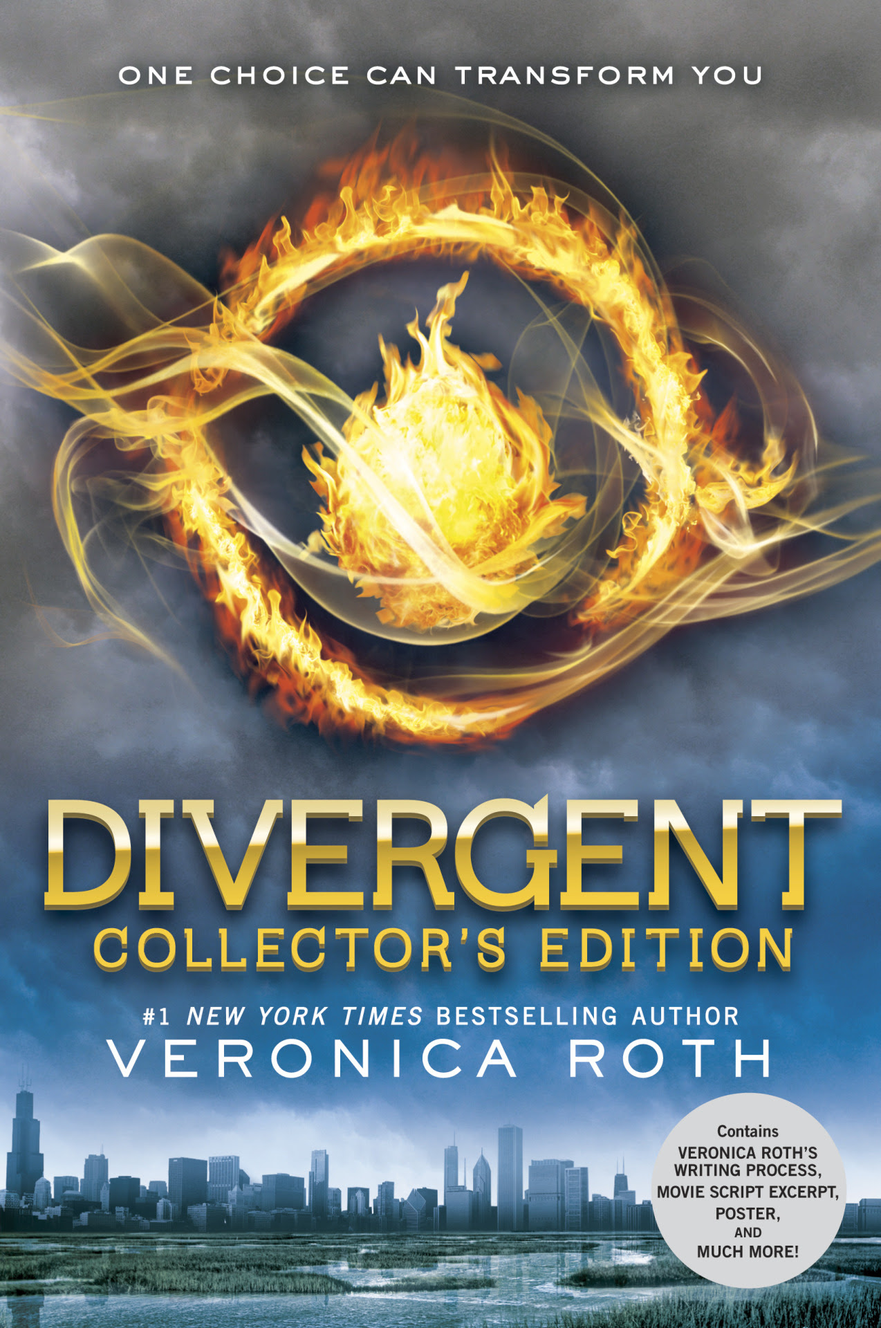 """Initiates! The Divergent Collector's Edition will be available October 21st! And we cannot contain our excitement! About theDivergent Collector's Edition:  The #1New York Times bestseller that started a worldwide phenomenon and inspired a major motion picture is now available in a beautifully designed Collector's Edition. This deluxe package features: 72 pages of bonus content including: Two essays by Veronica Roth, including excerpts from early drafts of Divergent An essay about the psychology behind fear and the """"exposure therapy"""" of Dauntless initiation Artistic renderings of the Choosing Ceremony Bowls An excerpt from the movie script Favorite quotes from Divergent, illustrated by fellow Initiates A map of the Dauntless compound Divergent discussion questions Plus: A four-color fold-out poster A brilliant metallic book jacket A satin ribbon placeholder This edition makes a great gift for established fans who want to expand their Divergent library or who already own the Insurgent Collector's Edition; readers new to the series who want a fuller reading experience; and fans of the feature film."""