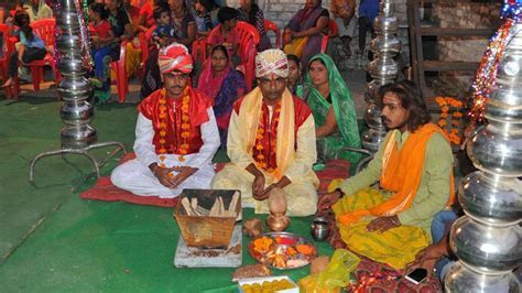 No cloud over this marriage: Indore men tie the knot for
