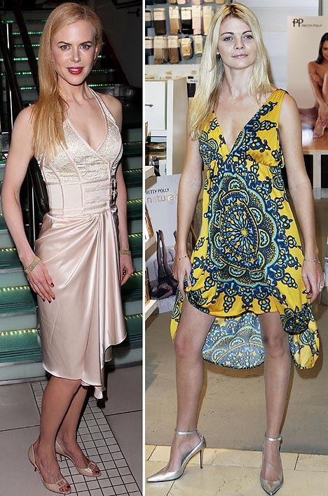 nicole kidman height. Nicole Kidman and Jemma Kidd