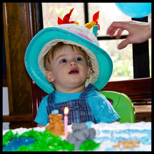 Gabriel's First B-Day