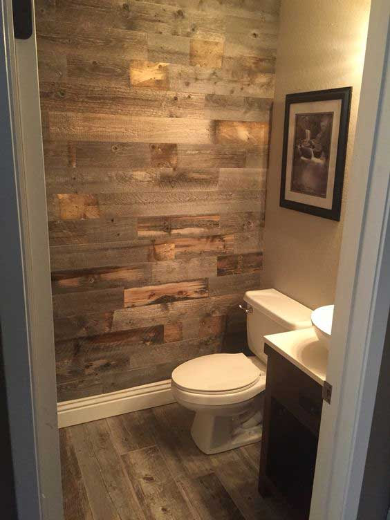 22 Ways to Boost and Refresh Your Bathroom by Adding Wood ...