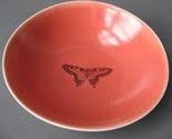 red dessert bowl