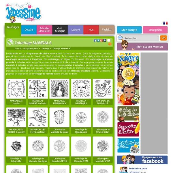 Coloriage Mandala 232 Coloriages En Ligne Gratuit Pour Les Enfants