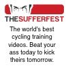 The Sufferfest: Downloadable cycling workout videos.