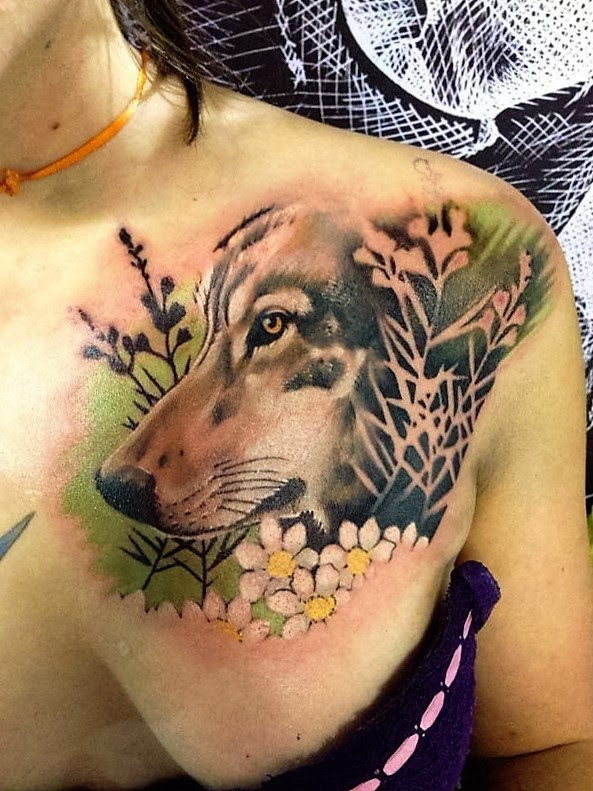 70 Majestic Wolf Tattoos For True Free Spirits Page 7 Of 7
