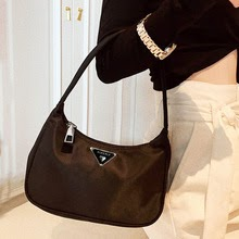 Retro Totes Bags For Women Trendy Vintage Nylon Mini Shoulder Bag